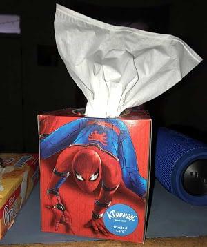 spiderman packaging error