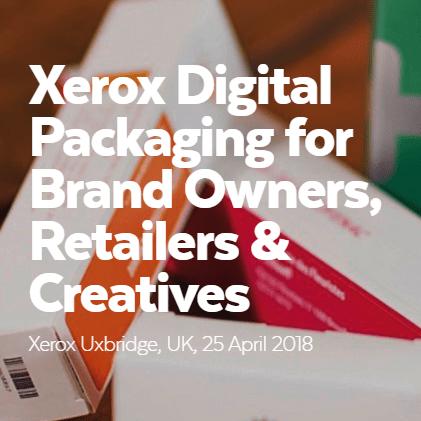 Esmark Finch Take Part In The Xerox Digital Packaging Event